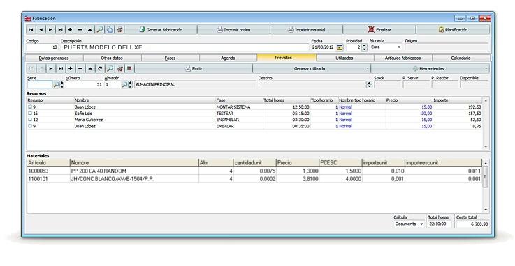 Programa software erp fabricacion venta puertas ventanas for Software muebleria