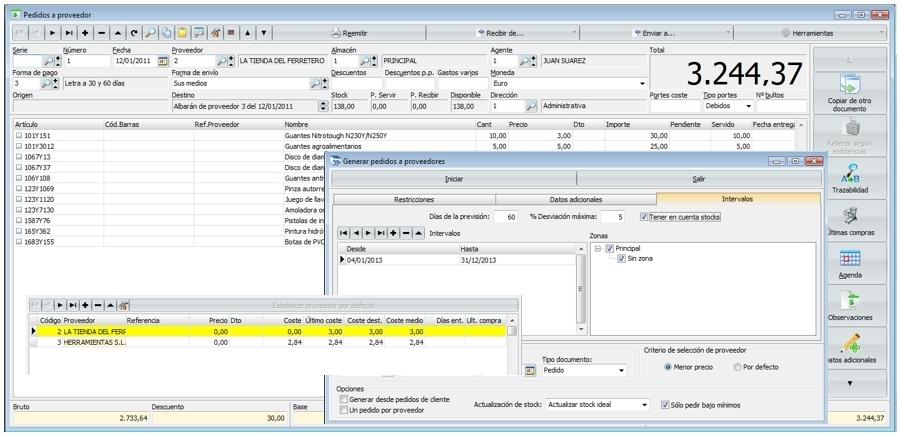 programa software erp venta taller reparacion coche Alicante ...